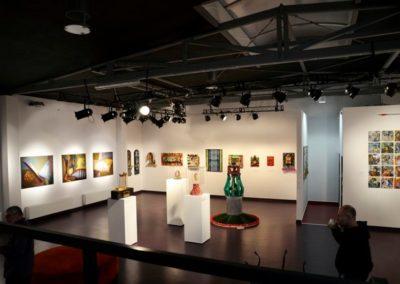 Nieograniczona Przestrzeń Sztuki – Ekspozycja